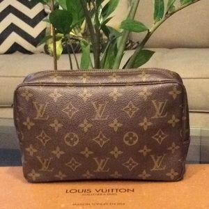 Authentic Louis Vuitton Cosmetic Pouch